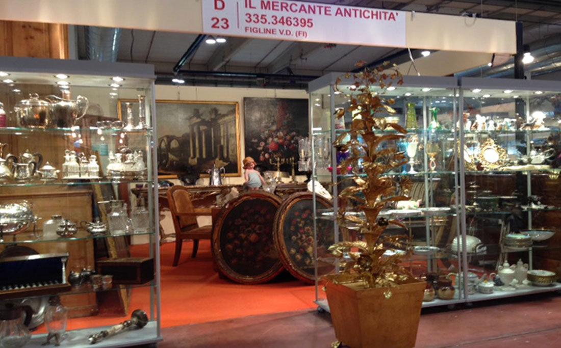 Il mercante antichit alla mostra mercante in fiera di parma for Il mercante arredamenti